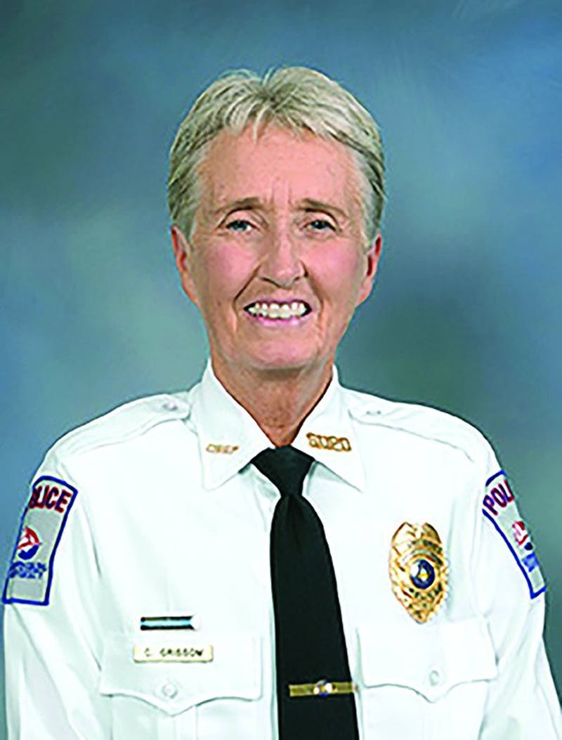 Chief Cytha Grissom has been working with the Shippensburg University Police Department for 15 years. Grissom will retire in January after more than 38 years in law enforcement.