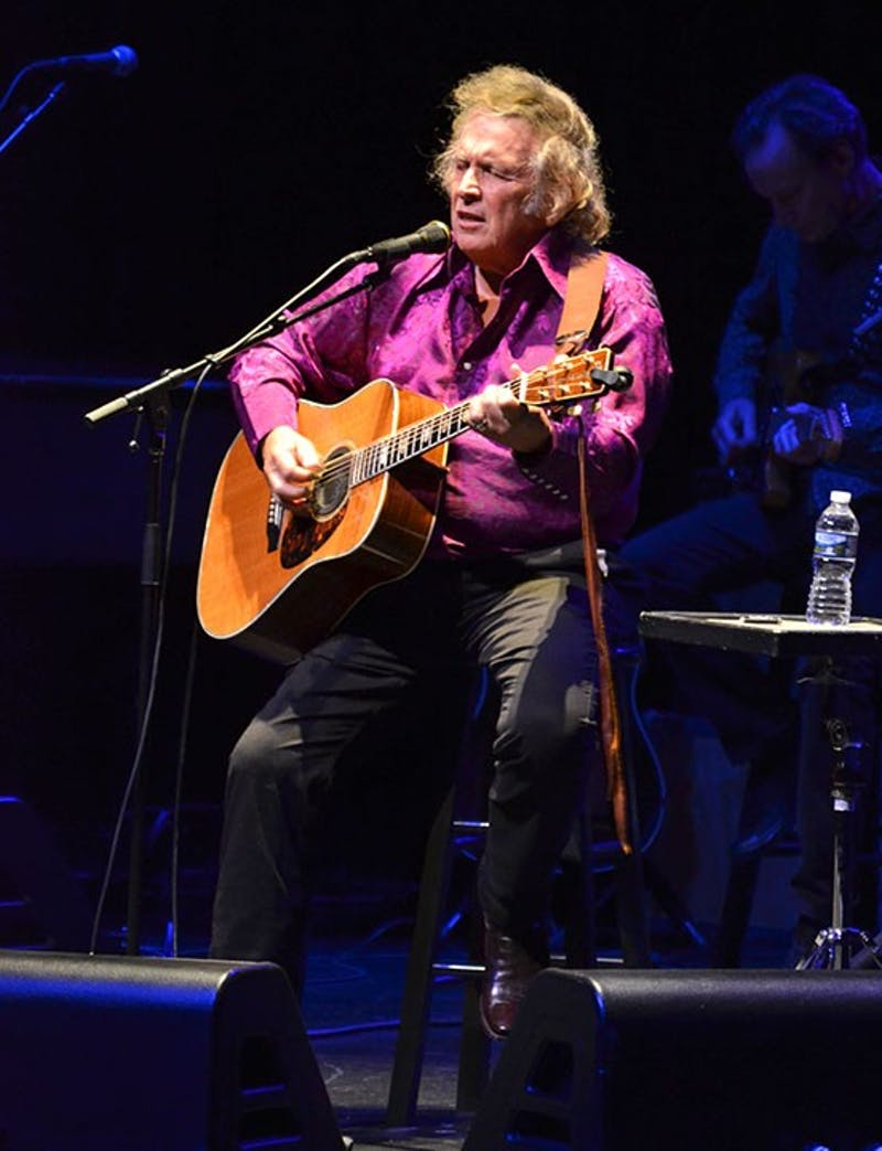 "Don McLean sings hits from his 1970 albums ""American Pie"" and ""Tapestry,"" and newer selections from his most recent album ""Botanical Gardens."""