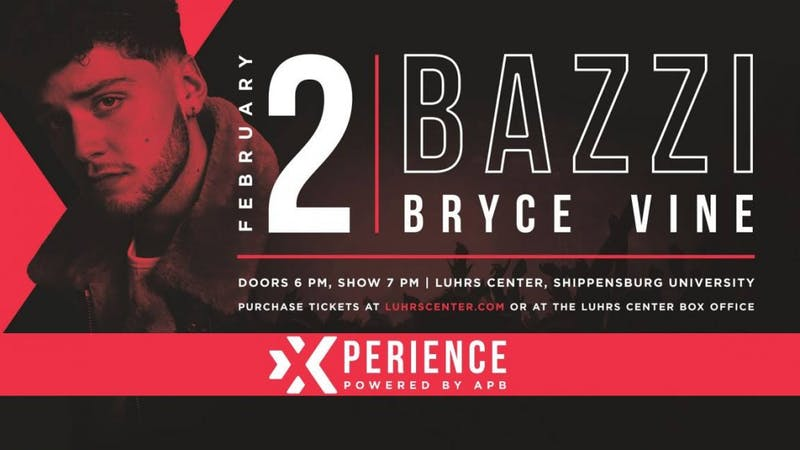 Bazzi and Bryce Vine are up-and-coming artists in the rap and hip hop scene. APB's concert coordinator, Chase Fisher, a marketing major who interned with Luhrs last fall, said Luhrs has been helpful in setting up the concert with APB.