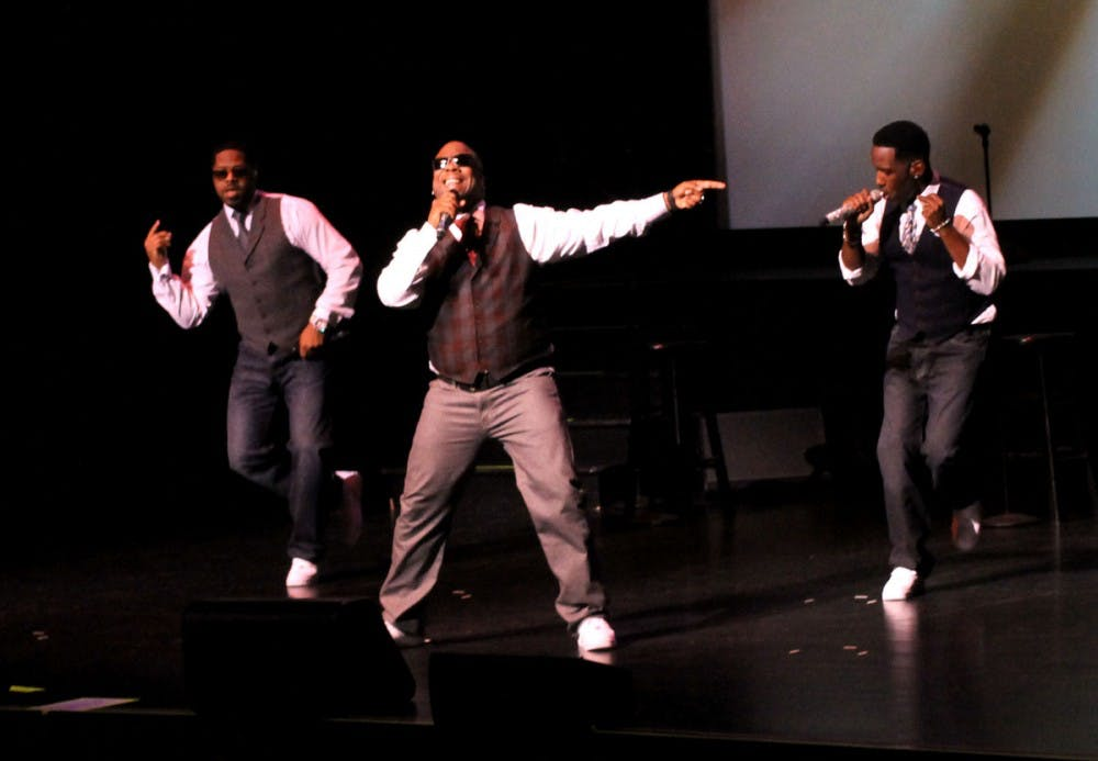 Boys II Men bring the '90s to Shippensburg