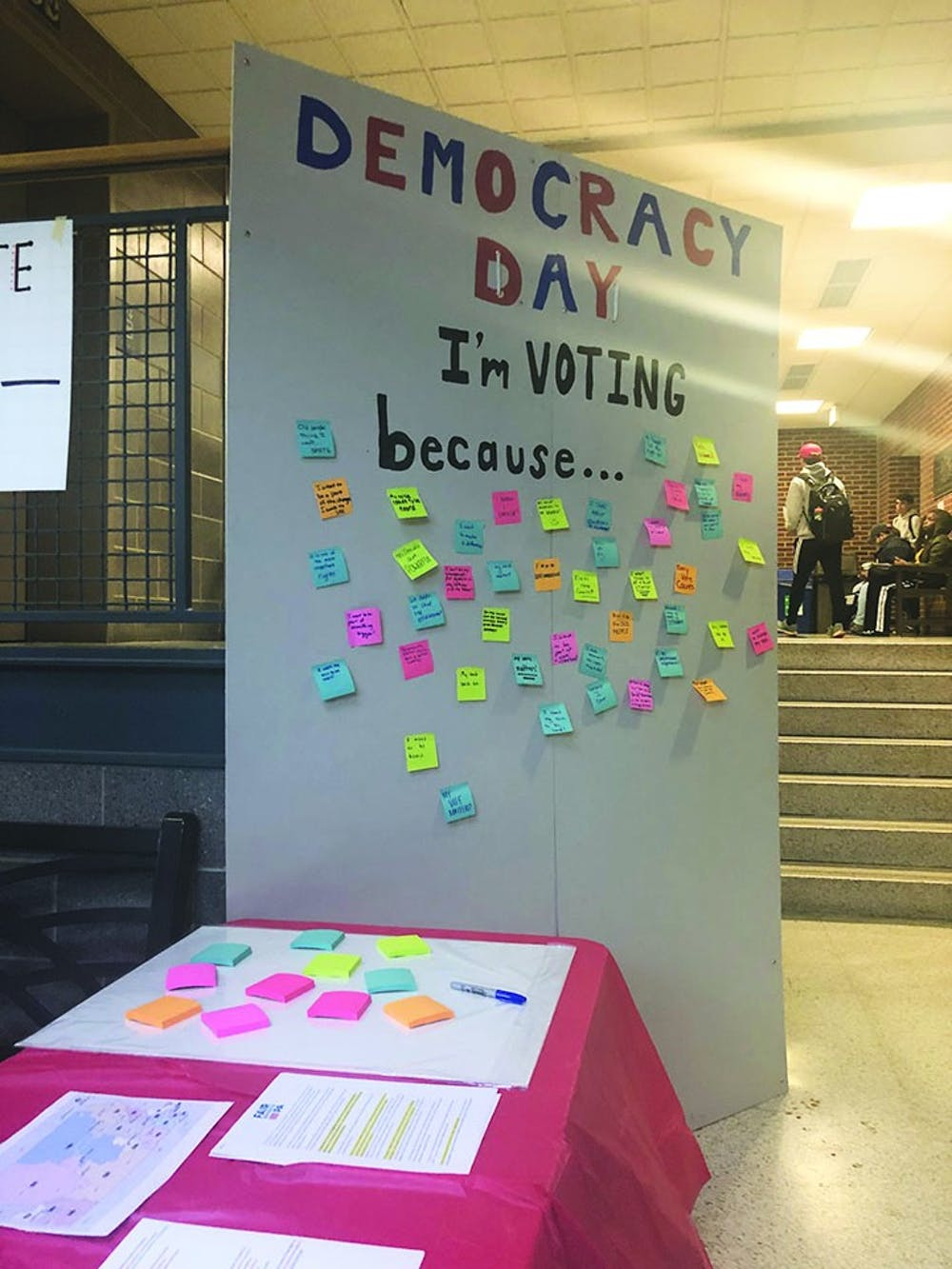 SU organization encourages students to vote