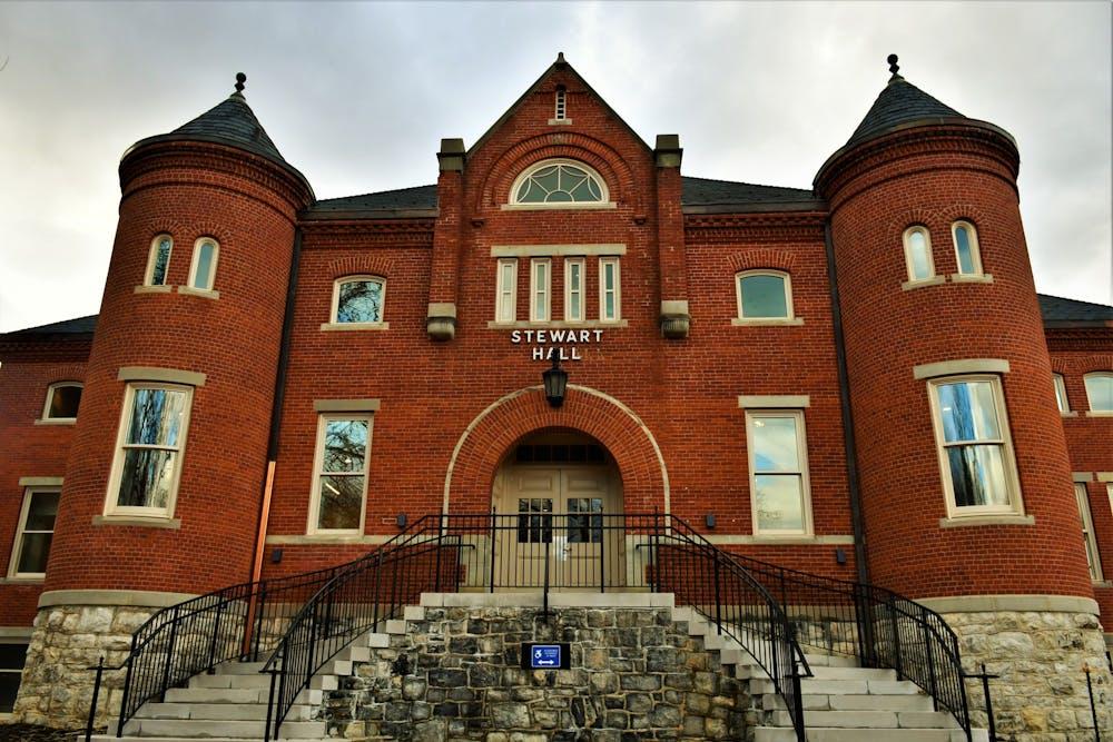 SU community gets sneak peek at renovated Stewart Hall