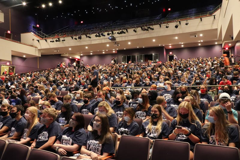 The Class of 2025 and new students were the first group  to have an in-person Convocation ceremony since the COVID-19 Pandemic began in March 2020.