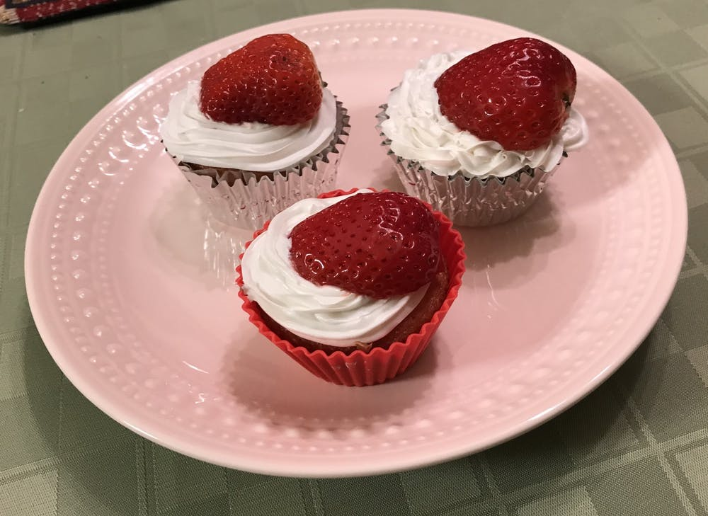 Recipe of the Week:  Strawberry Supreme Cupcakes