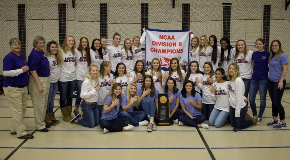 Field hockey receives championship rings