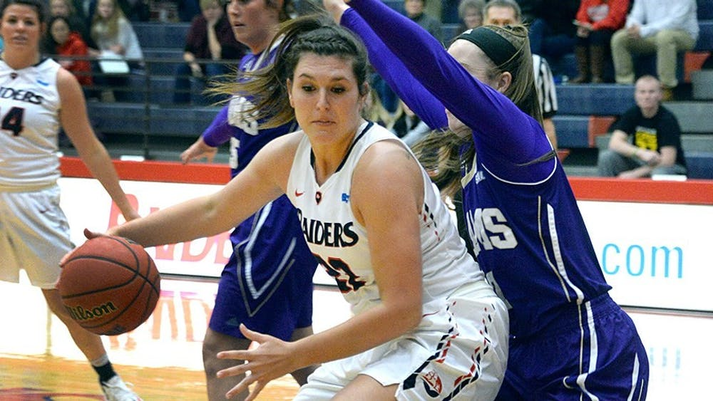 Raiders start strong, win seventh straight at Lock Haven, 72–58