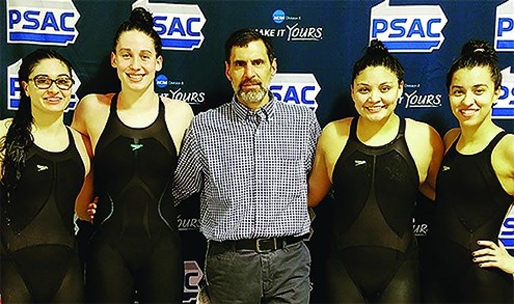 Swimming grabs Top 5 finish at 2018 PSAC Championships