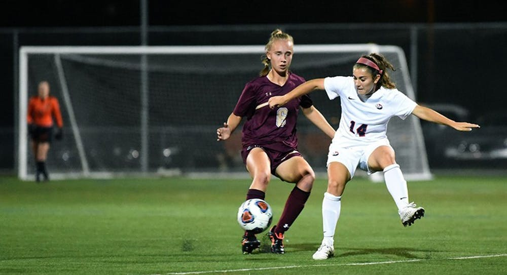 Women's soccer drops back-to-back PSAC games