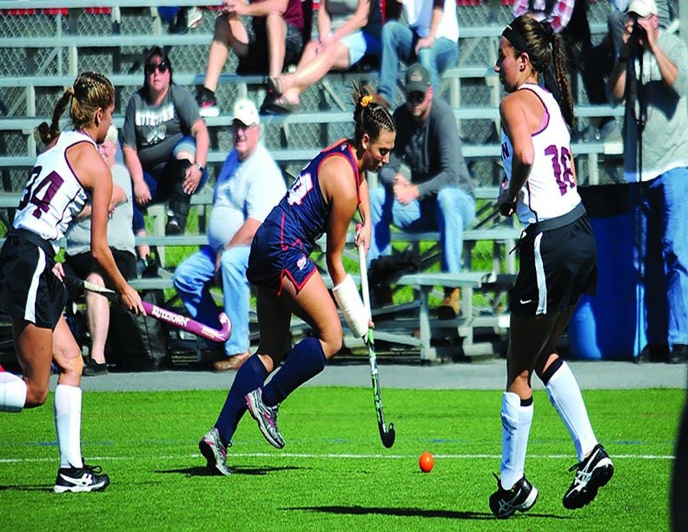 Field hockey sweeps PSAC foes