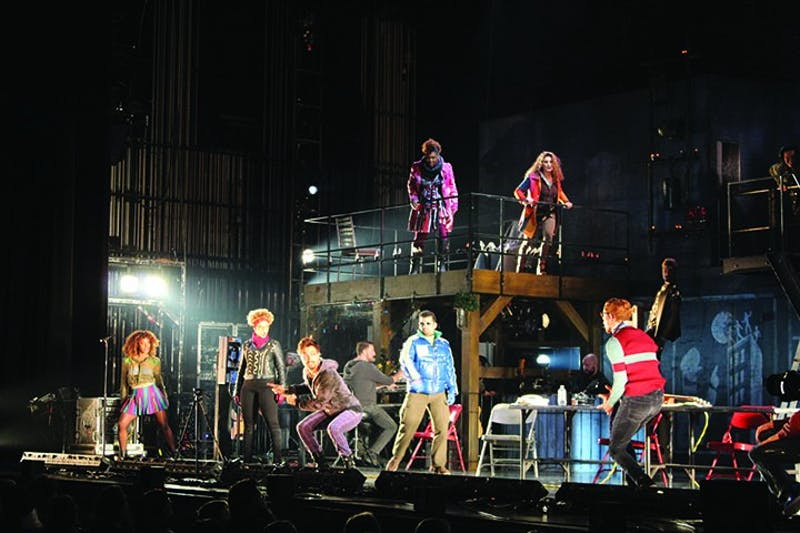 """Touring Broadway groups like the cast of """"Rent,"""" which stopped at Shippensburg University last year, are also impacted by the coronavirus."""