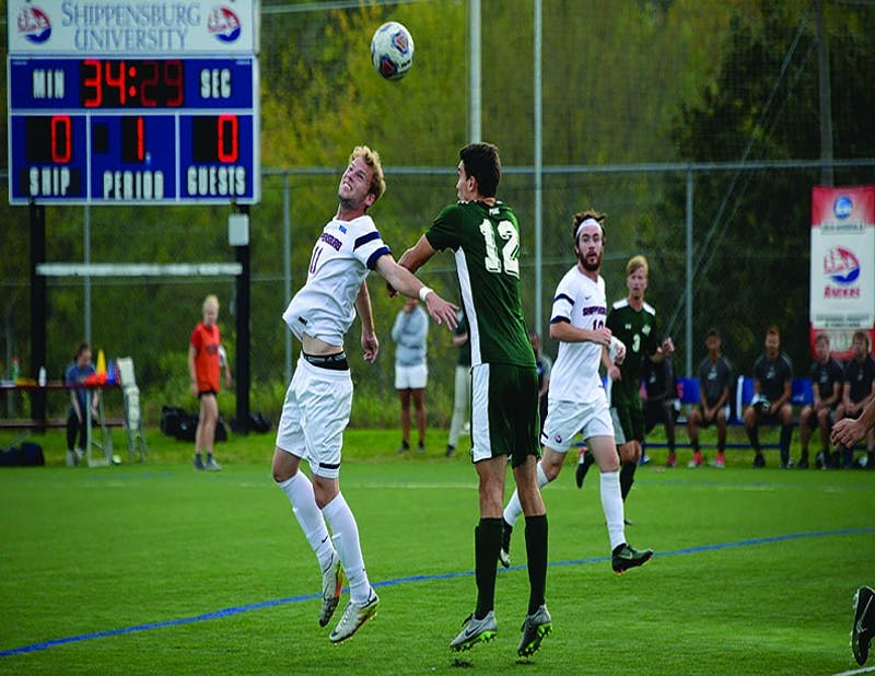 SU's Cole Kropnick led the SU men's soccer team in goals this season with 10.