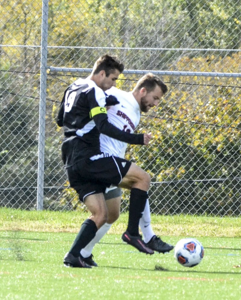 The men's soccer team battled hard, but was unable to score Saturday, in a 1–0 loss to California University.
