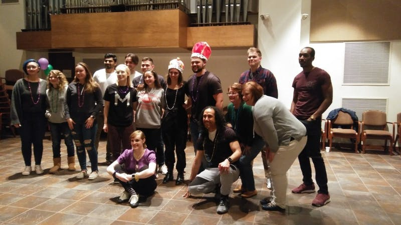 SU's French Club joins the community in food and dance to help raise money for the club's next trip to Haiti, where they will serve those in need.