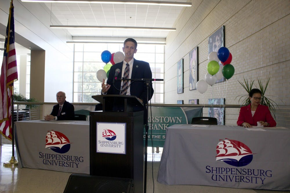 Orrstown Bank offers internships to Shippensburg University students