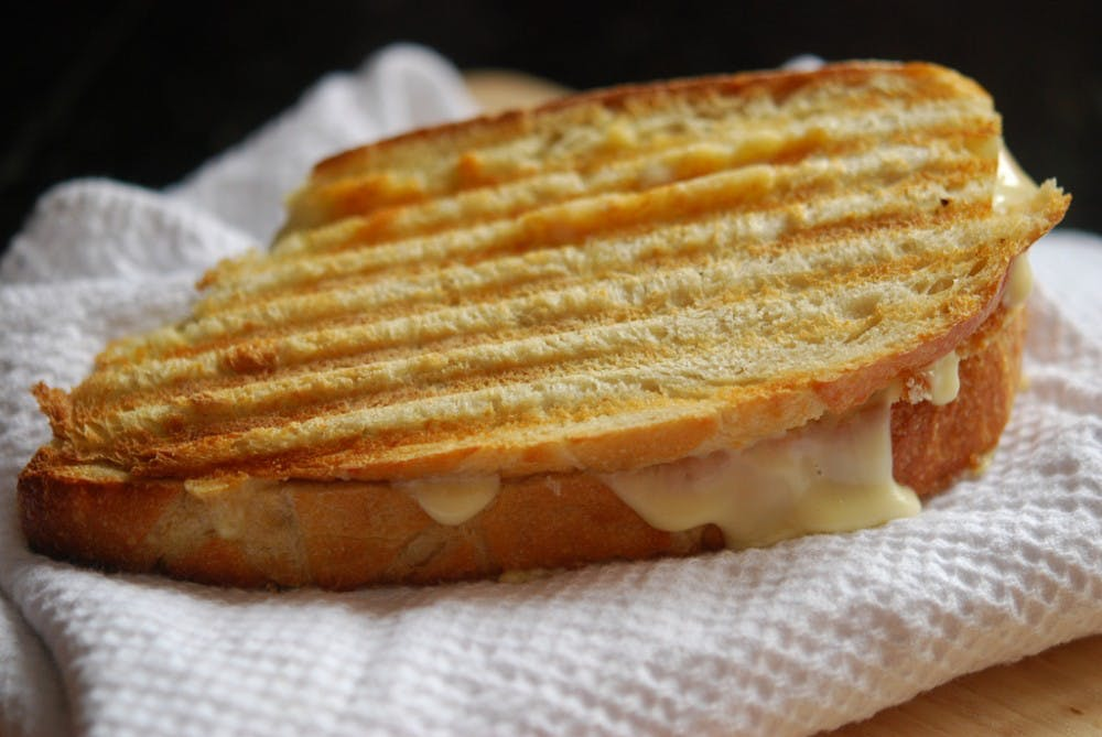 University Grill's best tasting grilled cheese