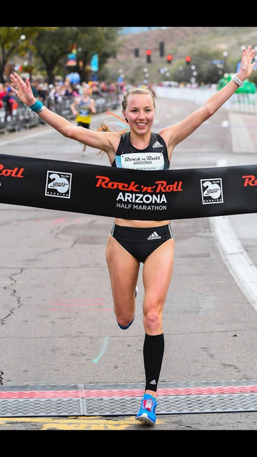 Spence Gracey wins Rock N' Roll Half Marathon in Phoenix