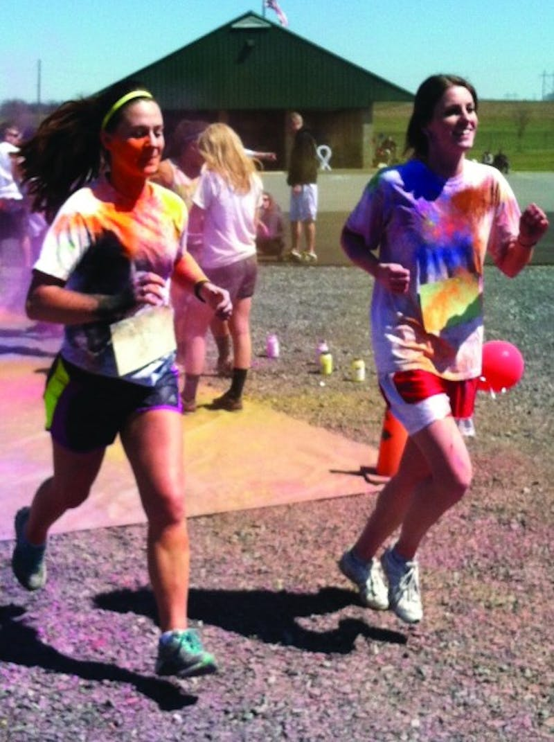 Colors of Hope 5K proceeds benefit cancer patients.