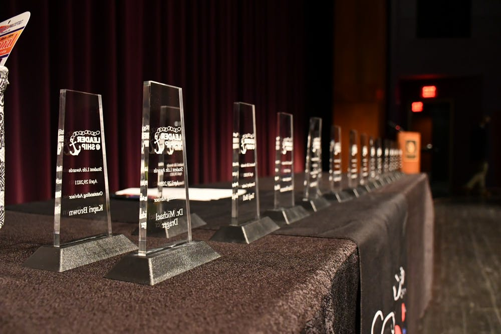 SU organizations recognized and rewarded at Student Life Awards