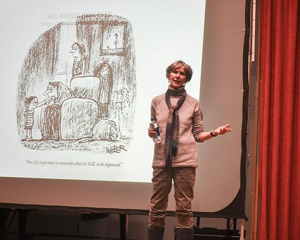 Lecture reveals truth of depression