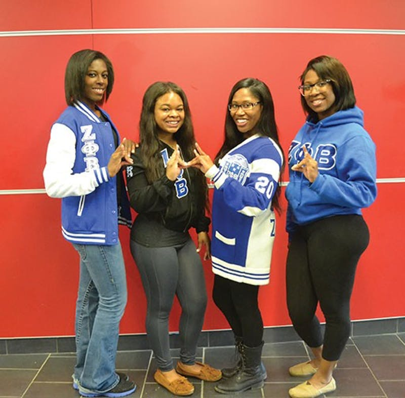 "Zeta Phi Beta's motto is ""A community conscience action oriented organization."""