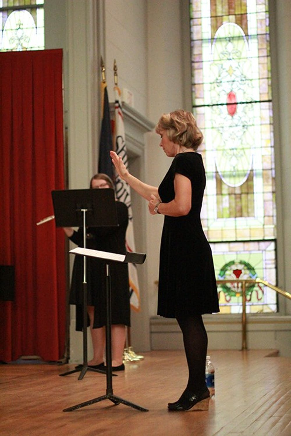 SU Woodwind Ensembles Perform in Old Main Chapel