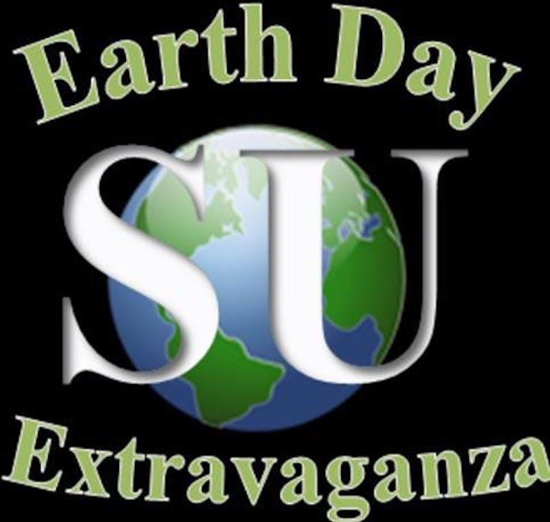 SU's Earth Day Extravaganza will be Thursday, April 18 on Su's academic quad.