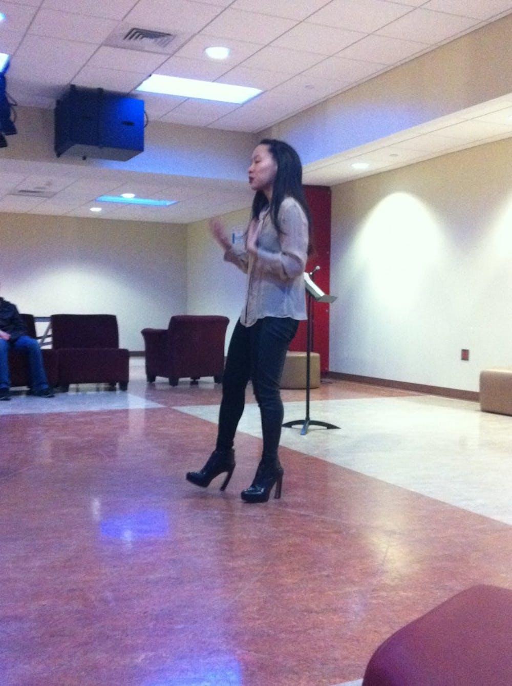 Spoken word artist expresses heritage through poetry