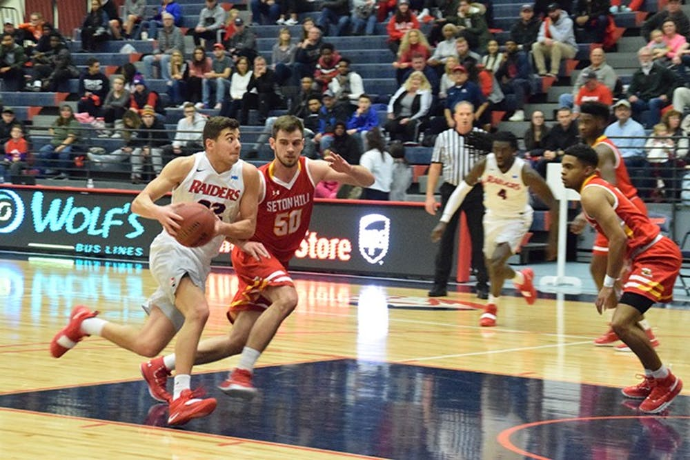 Men's basketball grabs two PSAC wins