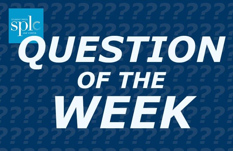 QuestionOfTheWeek