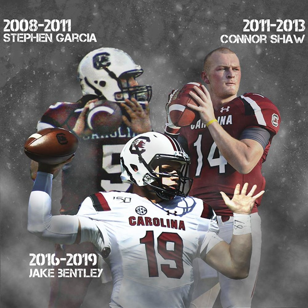 A Look At The Evolution Of Gamecock Quarterbacks This Decade