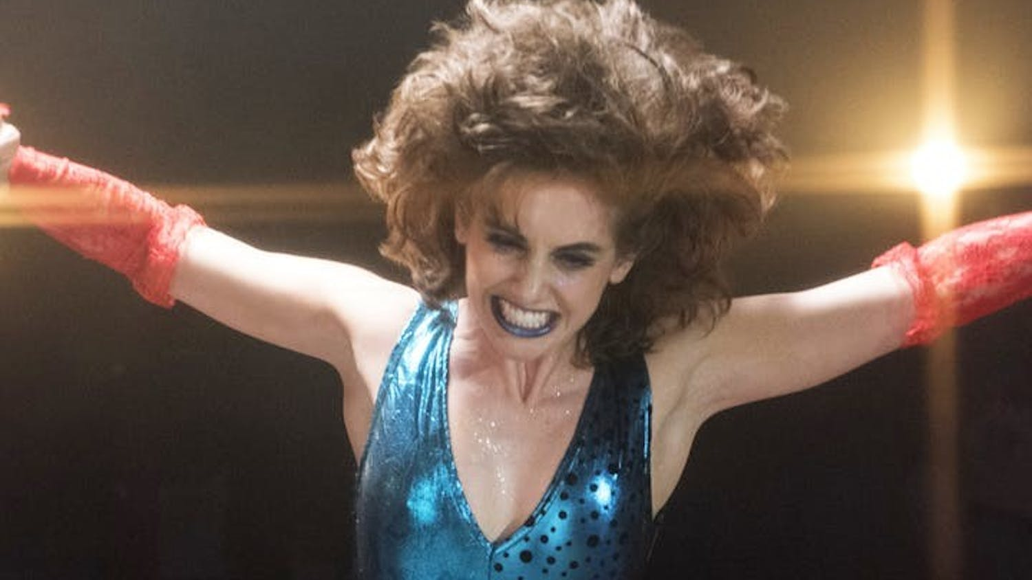"""Alison Brie in """"GLOW."""""""