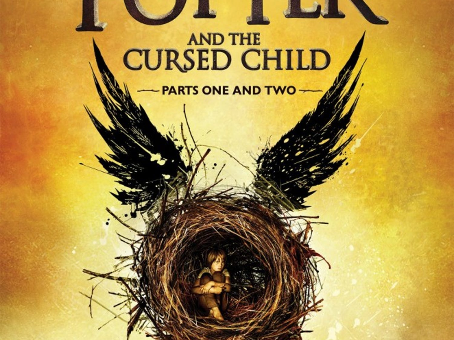 """""""Harry Potter and the Cursed Child"""" is a screenplay written by Jack Thorne and inspired by a short story by J. K. Rowling."""