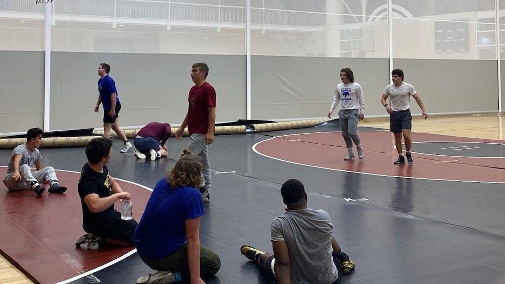 <p>The Gamecocks' Wrestling Club at the University of South Carolina.&nbsp;</p>