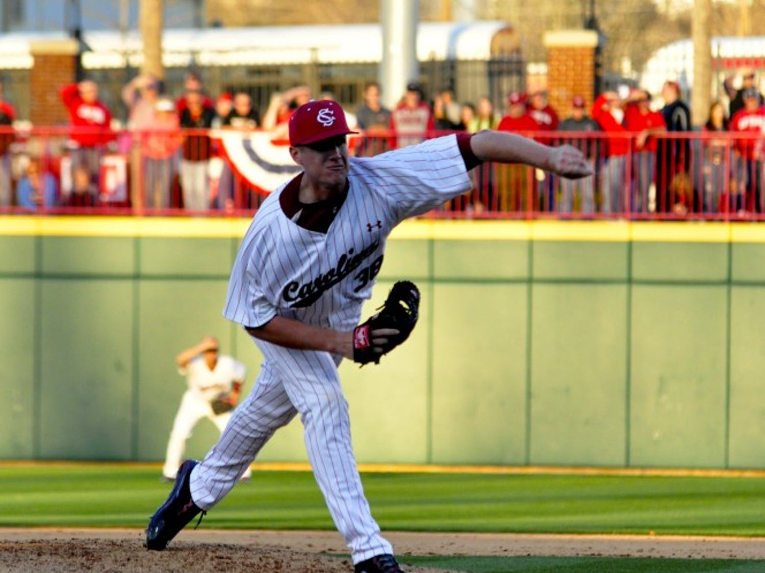 Senior closer Tyler Webb has missed time with a left elbow injury, but an MRI revealed no structural damage. Coach Chad Holbrook said he will not rush Webb back but hopes he can pitch against Kentucky this weekend.