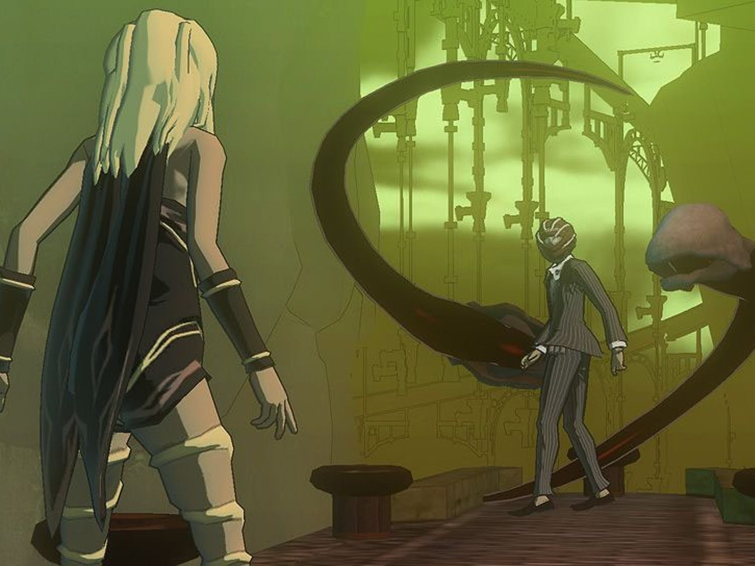 "With an intriguing gravity mechanic and relative lack of gimmicky motion controls, ""Gravity Rush"" is one of the more enjoyable early titles on the Sony Vita. (Sony Japan Studio/MCT)"