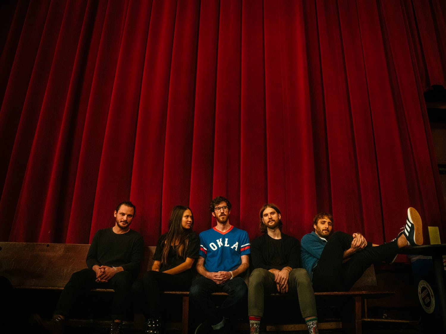 Members of Mt. Joy (from left to right) include Sam Cooper, Jackie Miclau, Michael Byrnes, Matt Quinn and Sotiris Eliopoulos. Mt. Joy is coming to Columbia on May 15 as part of its recently announced tour.