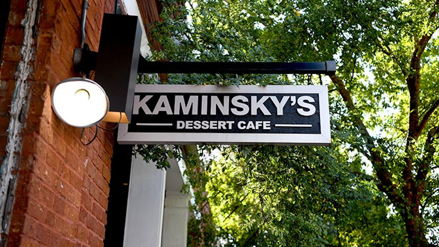 Kaminsky's Dessert Cafe is a popular spot for students in The Vista.