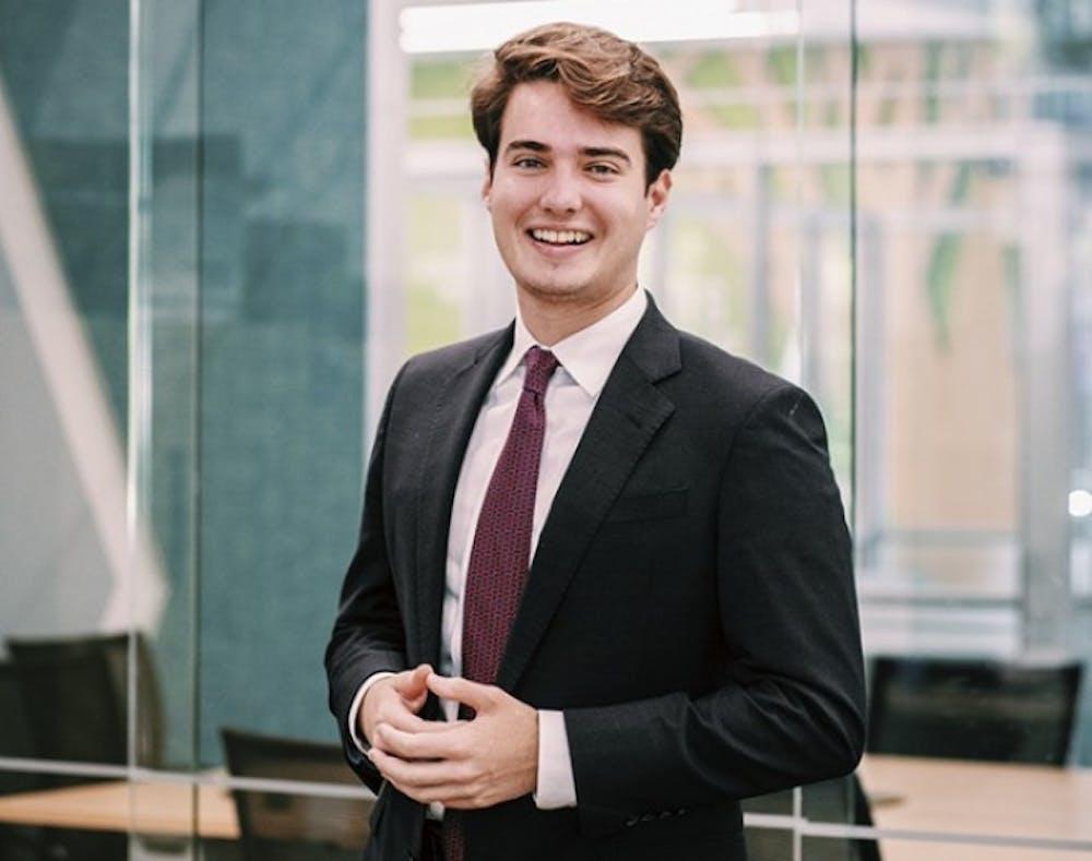 Headshot of Luke Rankin. Rankin served as student body president 2019-2020.