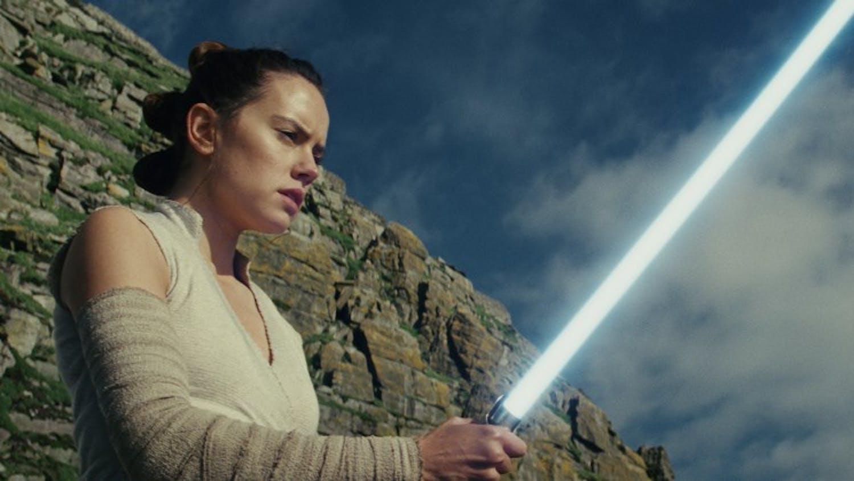 "Rey (Daisy Ridley) in ""Star Wars: The Last Jedi."" (Lucasfilm Ltd./TNS)"