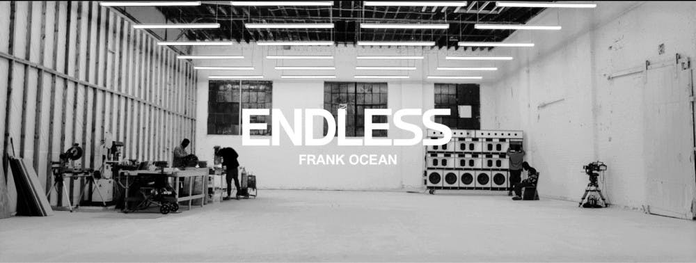 """<p>One day before """"Blonde"""" released, Frank Ocean released a visual album called """"Endless,"""" available exclusively through Apple Music.</p>"""
