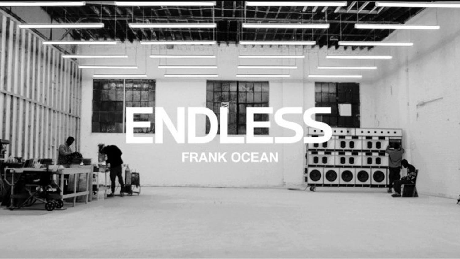 """One day before """"Blonde"""" released, Frank Ocean released a visual album called """"Endless,"""" available exclusively through Apple Music."""