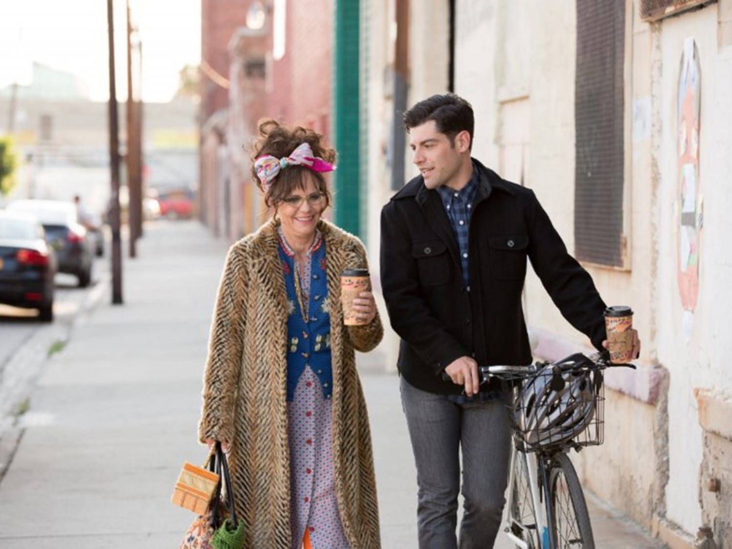 """Sally Field and Max Greenfield in """"Hello, My Name is Doris."""" (Roadside Attractions)"""