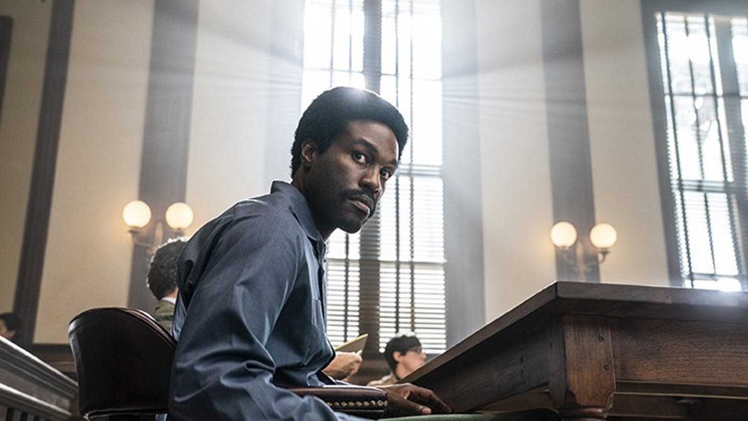 """Yahya Abdul-Mateen II plays Bobby Seale in the new movie """"The Trial of the Chicago 7,"""" which premiered on Netflix on Oct. 16, 2020."""