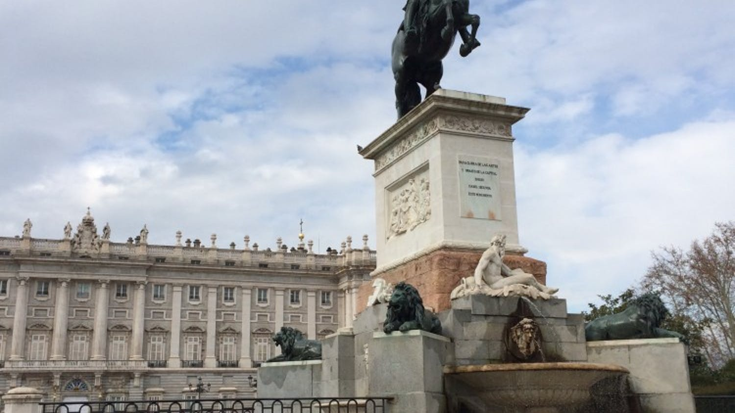 One of our staff writers,Rachel Lunsford, just arrived in Madrid, Spain, where she will be studying abroad for the next four months.