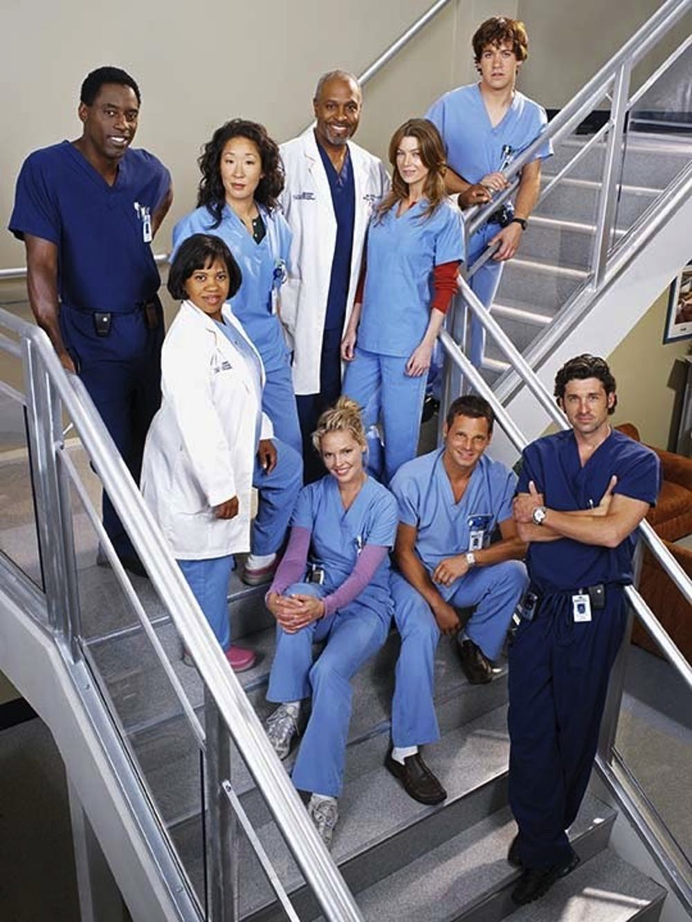 """<p>The cast of ABC's """"Grey's Anatomy."""" """"Grey's Anatomy"""" is one of the many shows on TV today that includes portrayals of mental disorders in a way that trivializes them and feeds into stereotypes.</p>"""