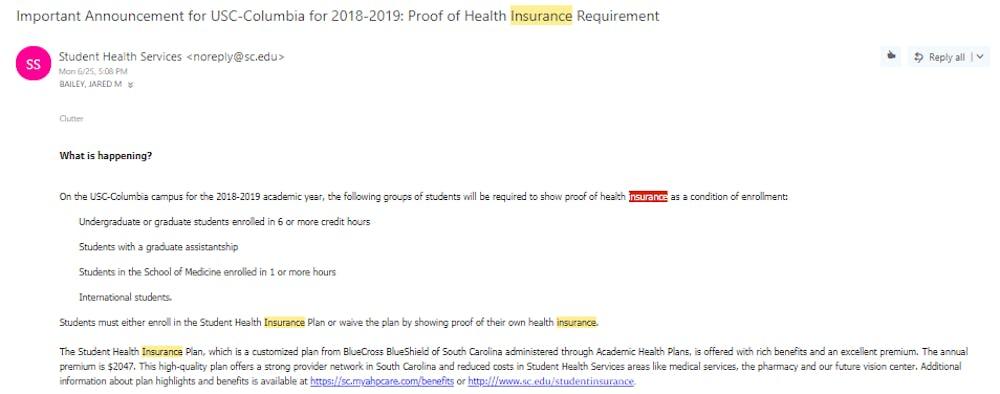 Mandatory Health Insurance Cap