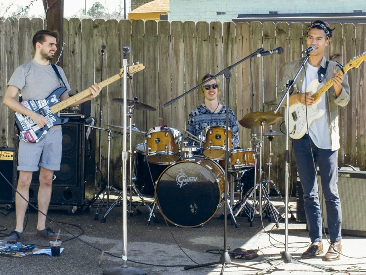 WUSC finished their fundraiser week with a large celebration of talentedlocal musicians at El Burrito.
