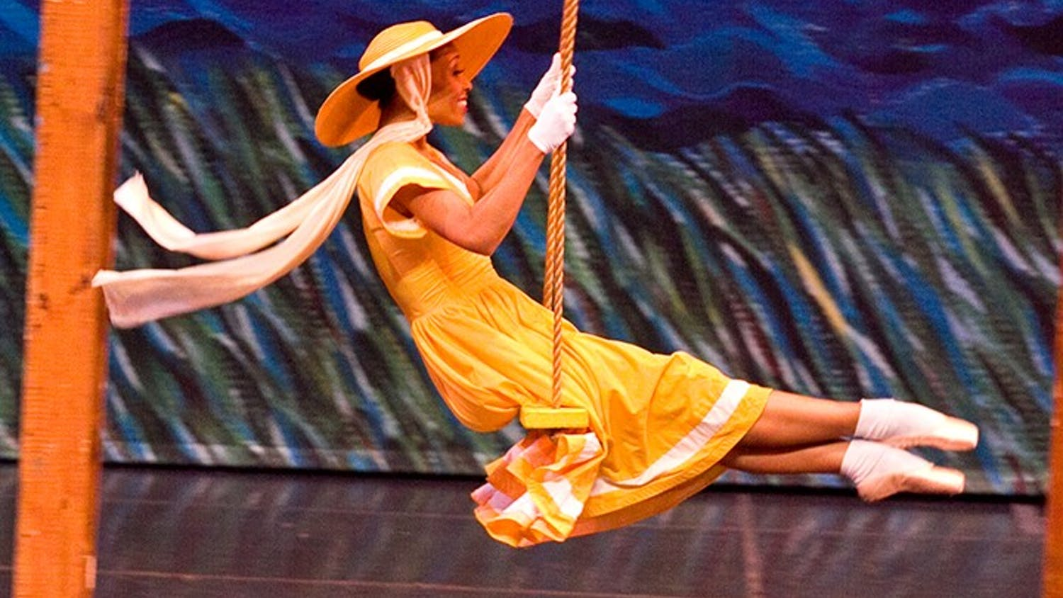 """Alicia White-Burkett in a 2011 production of""""Off the Wall and Onto the Stage."""""""