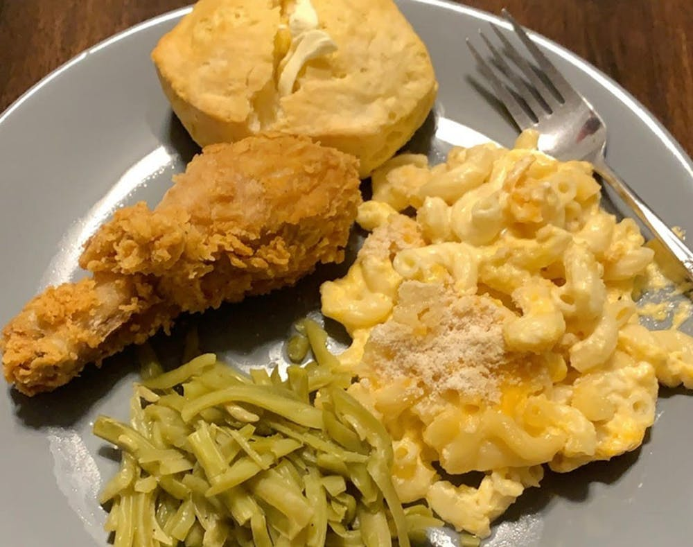 <p>This mac and cheese dinner is a Kramer family favorite. It is an easy recipe and a game-changer for hungry college students.</p>