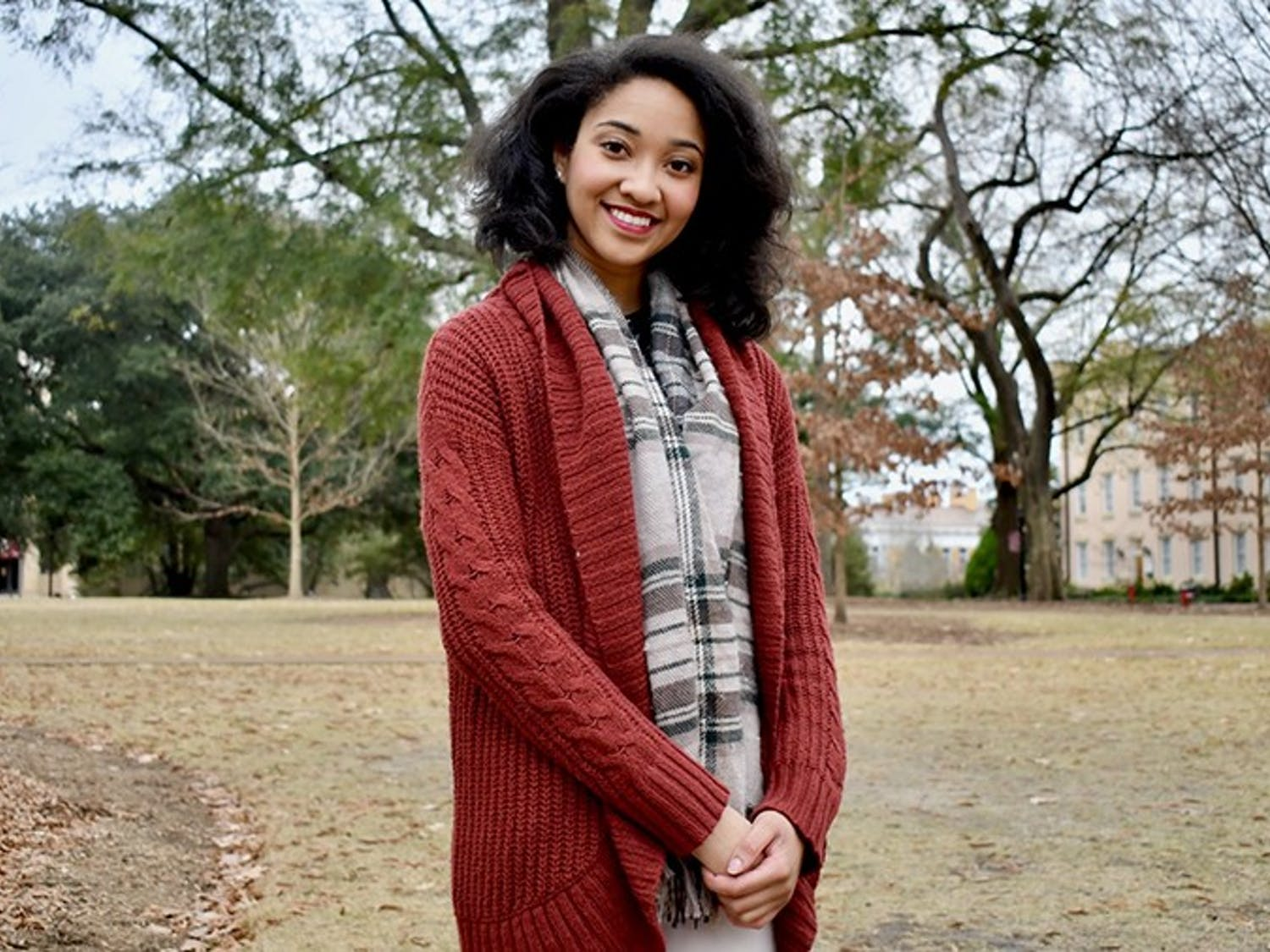 """Third-year business economics student Antonia Adams lost both of her parents within months of each other. Adams had to manage her parents' estate, along with her own grief, at 20 years old and now is planning to go to law school to """"help people overcome their circumstances."""""""
